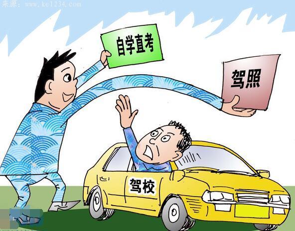 关于机动车驾驶证自学直考试点的公告