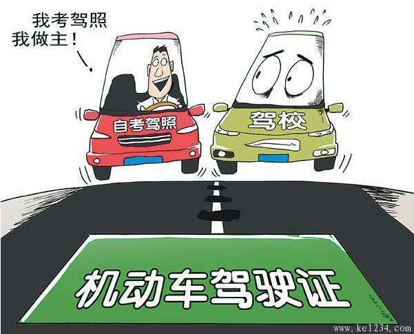 南宁市自学直考驾驶训练路段